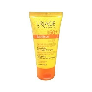 Uriage URIAGE Bariesun Fragrance-Free Cream SPF50+ 50 ml Renksiz